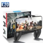 K20 Game Playing 2000mAh PUGB Mobile Controller with Cooling Fan
