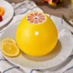 USB Grapefruit Humidifier Mini Silent Atomizer – Yellow