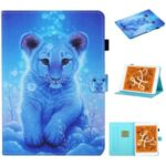 Pattern Printing Card Slots Stand Flip Leather Case for iPad Mini/Mini 2/Mini 3/Mini 4/Mini (2019) 7.9 inch – Little Lion