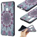 Protective Pattern Printing Embossed TPU Shell Case for Samsung Galaxy A21 (International Version) – Symmetric Pattern