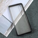 Detachable Metal Magnetic Frame + Glass Front Back Cover for Xiaomi Mi 10/Mi 10 Pro – Black