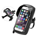 WEST BIKING Bicycle Waterproof Touch Screen Mobile Phone Bag Handlebar Cycling Bag