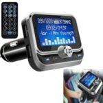 BC32 LCD Bluetooth MP3 Player Dual USB Car Charger FM Transmitter with Remote Control