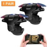 1 Pair Mobile Game Controller Trigger Cellphone Gaming Joystick 4 Fingers Operation Trigger