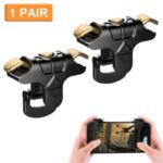 2PCS Mobile Game Controller Trigger Cellphone Gaming Joystick 4 Fingers Operation
