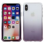 ROAR Gradient Color Shockproof TPU Protective Shell for Phone XS 5.8 inch – Purple