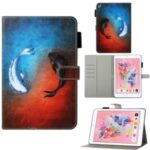 Pattern Printing Leather Wallet Case for iPad 9.7-inch (2018) / 9.7-inch (2017) / Pro 9.7 inch (2016) / Air 2 / Air (2013) – Fish