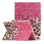 Pattern Printing Flip Leather Case Wallet Tablet Shell for iPad 10.2 (2019)/Air 10.5 inch (2019) – Leopard