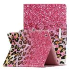 Pattern Printing Wallet Leather Stand Case for iPad 4/3/2 – Leopard