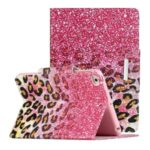 Pattern Printing Leather Wallet Stand Case for iPad mini (2019) 7.9 inch/4/3/2/1 – Leopard