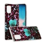 Marble Skin IMD TPU Mobile Phone Case for Samsung Galaxy A51 5G SM-A516 – Style A