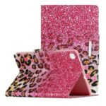 Pattern Printing Flip Leather Wallet Tablet Cover Case for Samsung Galaxy Tab S6 Lite P610 – Leopard