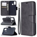 Wallet Leather Stand Case for Huawei P smart 2020 – Black