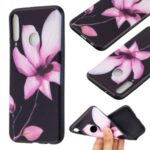 Pattern Printing Soft TPU Protective Back Case for Huawei P40 Lite E/Y7p/Honor 9C – Flower