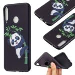 Pattern Printing Soft TPU Protective Back Case for Huawei P40 Lite E/Y7p/Honor 9C – Panda