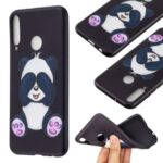 Pattern Printing Soft TPU Protective Back Case for Huawei P40 Lite E/Y7p/Honor 9C – Cute Panda