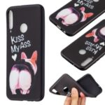 Pattern Printing Soft TPU Protective Back Case for Huawei P40 Lite E/Y7p/Honor 9C – Kiss My Ass