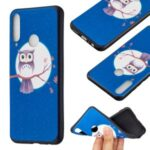 Pattern Printing Soft TPU Back Shell for Huawei Y6p – Owl and Moon