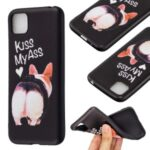 Pattern Printing Soft TPU Phone Cover for Huawei Y5p/Honor 9S – Kiss My Ass