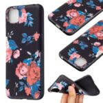 Pattern Printing Soft TPU Phone Cover for Huawei Y5p/Honor 9S – Red Flowers