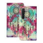Pattern Printing Leather Wallet Phone Cover for Xiaomi Mi Note 10 Lite – Dream Catcher