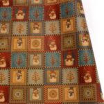 Christmas Retro Printed Kraft Wrapping Paper, Size: 50 x 70cm – Style A