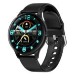 LEMONDA K21 Smart Watch Multi-function Smart Bracelet Waterproof Heart Rate Thermometer Monitoring Wristband – Black