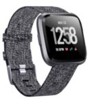 Canvas Nylon Watch Band for Samsung Galaxy Watch 46mm/S3/S4 – Black