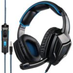 SADES SA920PLUS Stereo Gaming Headset Noise Cancelling Over Ear Headphones with Mic