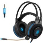 SADES SA936 Over-ear Gaming Headphone Stereo 3.5mm Jack Corded Headphone Headset with Mic