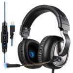 SADES R10 Over-Ear Gaming Headset with Noise Cancelling Mic
