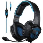 SADES SA807 Gaming Headset Headphone Stereo Sound 3.5mm Wired with Mic for PC/New Xbox One/PS4