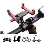 360° Rotation Mobile Phone Holder for Rotary Bicycle Motorcycle Electric Vehicle