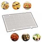 Non – stick Carbon Steel Cake Cooling Rack Net Cookies Biscuits Bread Cooler Holder