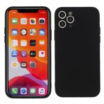 Matte Skin Soft Silicone Phone Case for iPhone 11 Pro 5.8-inch – Black