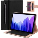 Business Style Leather Tablet Cover for Samsung Galaxy Tab S7 T870 11 inch – Black