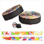 WEST BIKING 2Pcs Road Bike Handlebar Tape PU Belt Anti-slip Strap – Camouflage
