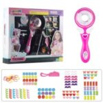 Children's Electric DIY Hair Braid Girl with Braids Hairdressing Play Toys Self-care Ability Training