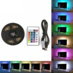 5050 Waterproof LED Strip Light USB 5V RGB LED Strip TV LED Backlight Televesion Decoration Light for Home Theater – 2m