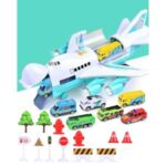 Kids Toy Car Plane Set Alloy Police Engineering Car Model Bus Truck Car Construction Toy – City Series