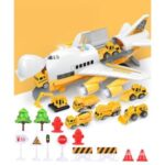 Kids Toy Car Plane Set Alloy Police Engineering Car Model Bus Truck Car Construction Toy – Engine Series