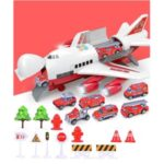 Kids Toy Car Plane Set Alloy Police Engineering Car Model Bus Truck Car Construction Toy – Fireman Series