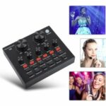 Sound Card Support 3 Phones 12 Sound Effects for Phone Computer Live Online Singing