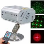 50mw/100mW Laser Projector Professional Stage Light Remote Control Red Green Light – AU Plug