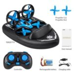 3 in 1 Triphibian Drone Quadcopter Remote Control Boat 3D Flip Headless Mode RC Drone