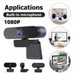 USB Computer Camera HD 1080P Webcam with Microphone for Mac Laptop Stream Webcam