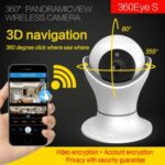 360 Eyes 2 Million HD 3D Navigation Network Home Wifi Smart Surveillance Camera (EC39-T11) – US Plug