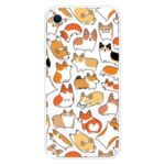 Cute Pattern Printing Soft TPU Protective Case for iPhone SE (2nd Generation)/7/8 – Animal