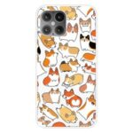 Cute Pattern Printing Soft TPU Phone Cover for iPhone 12 5.4 inch – Animal