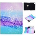 Pattern Printing Leather Stand Tablet Case for iPad Air 4 10.8 inch (2020) – Glittery Powder
